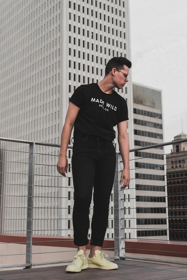 T-Shirt mit Sportdruck – Komfort und Individualität.